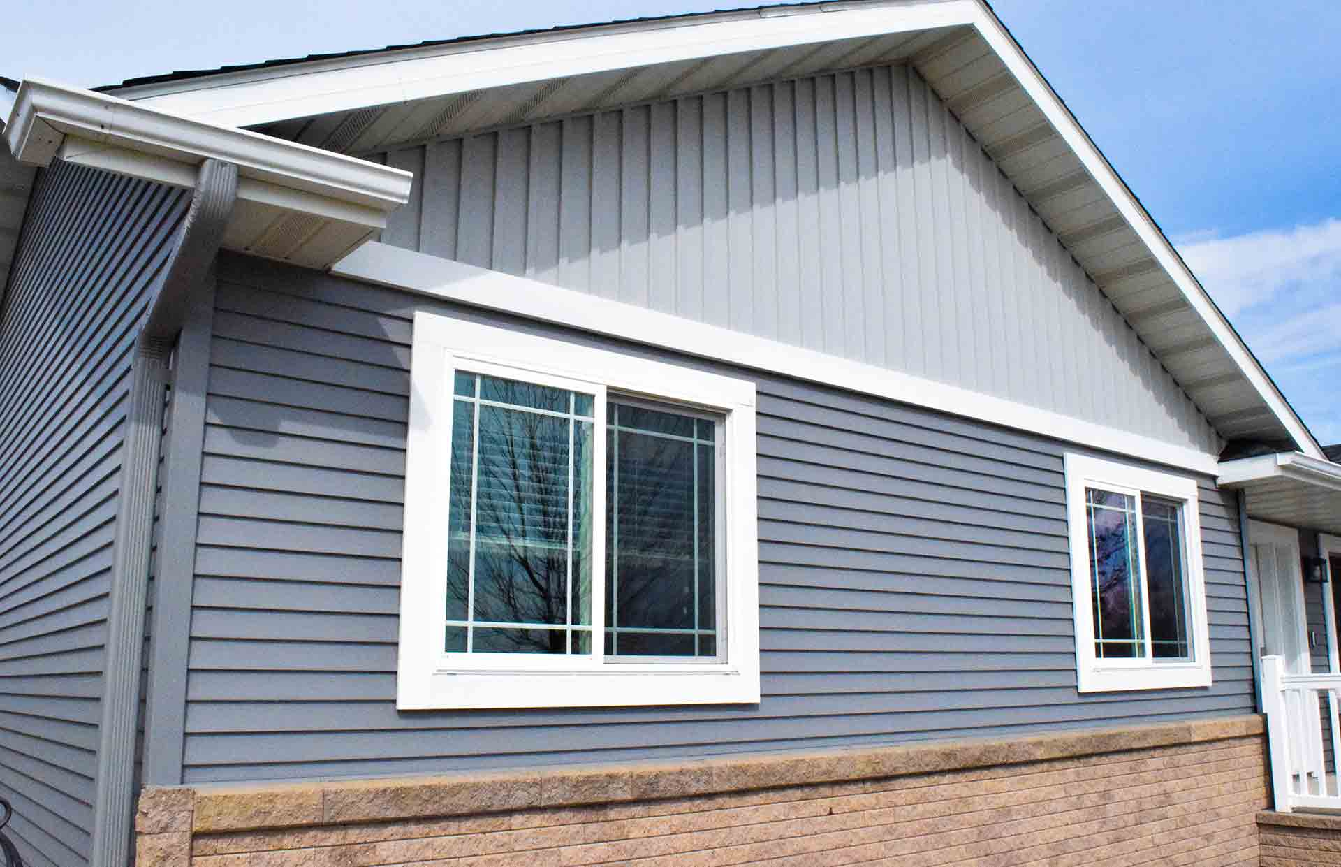 New Exterior Siding Installation